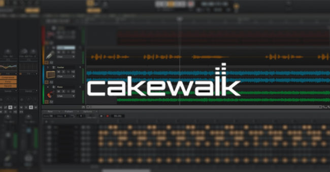 Cakewalk by BandLabの画像
