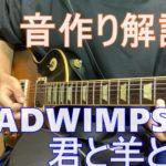 RADWIMPS - 君と羊と青 ギターの音作り