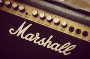 guitar marshall amp
