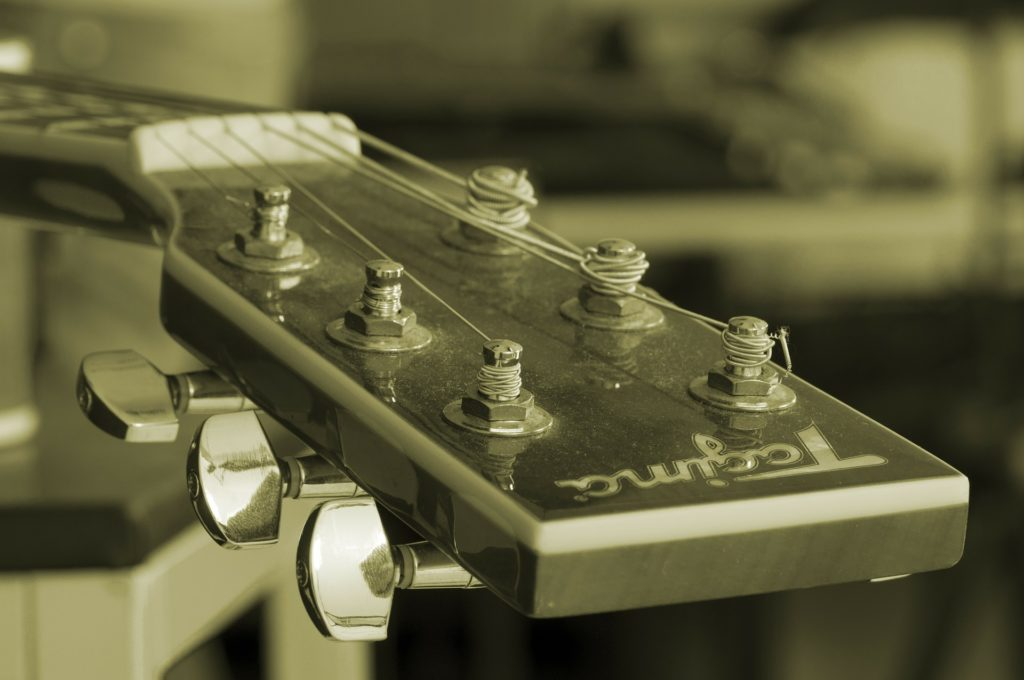 ギターヘッドの画像