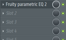 Fruity parametric EQ 2の画像