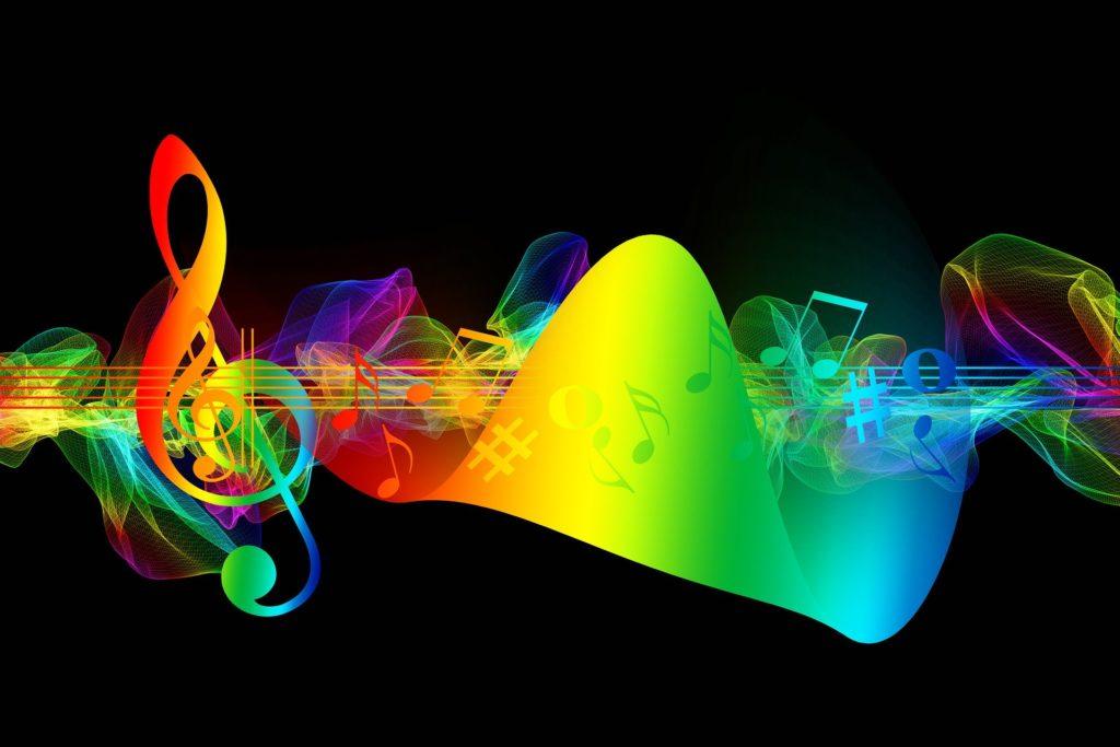 音波の画像