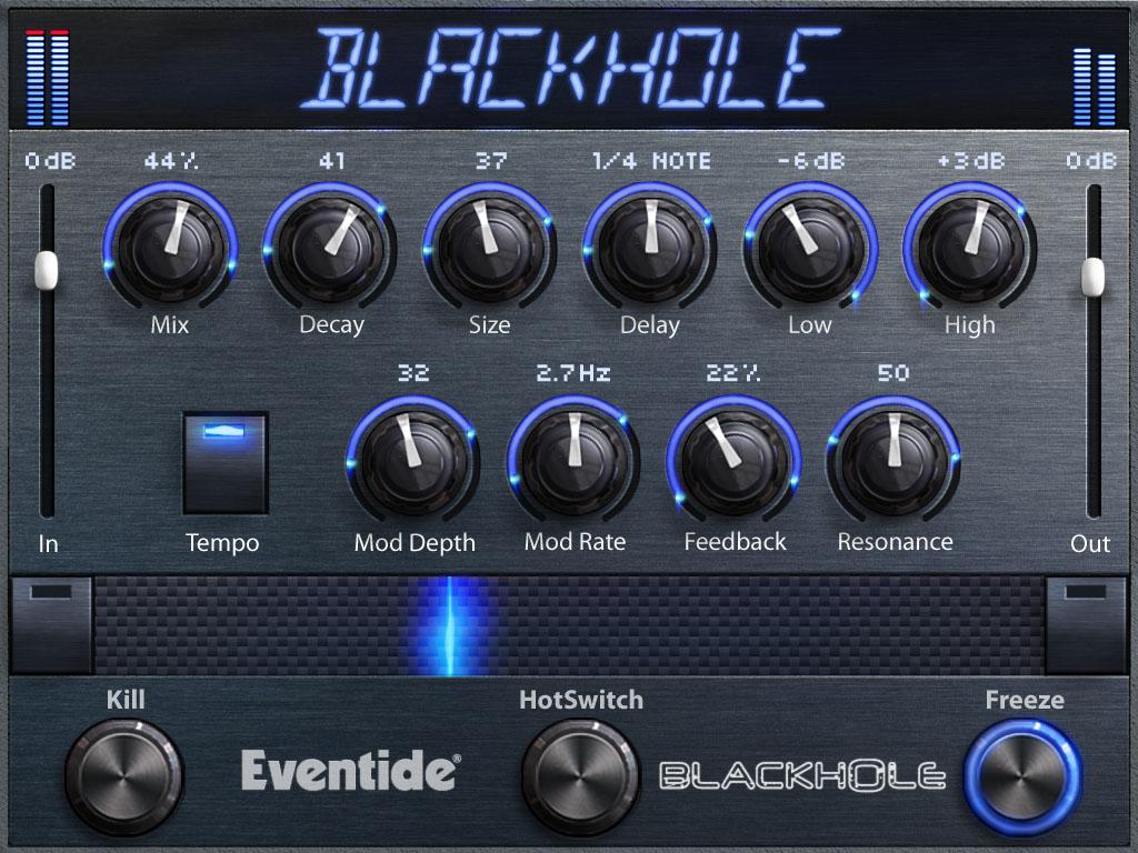 Eventide Blackhole Reverb の画像