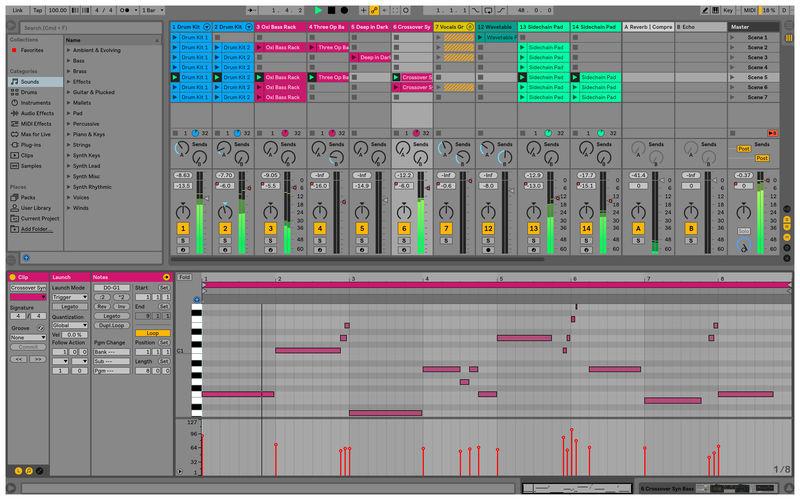 Ableton Live Suiteの画像
