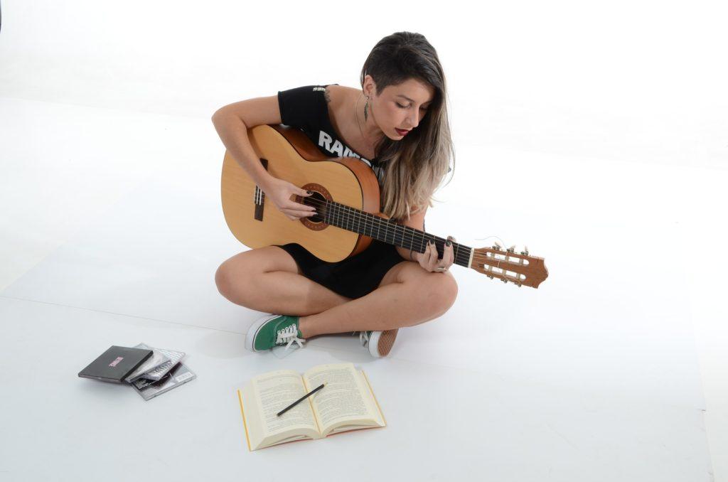 ギター初心者の画像