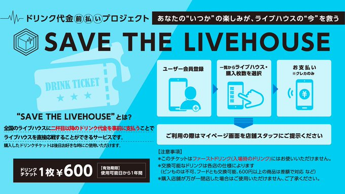 SAVE THE LIVEHOUSEの画像