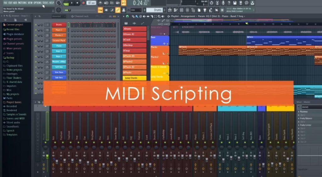 MIDIスクリプトの画像