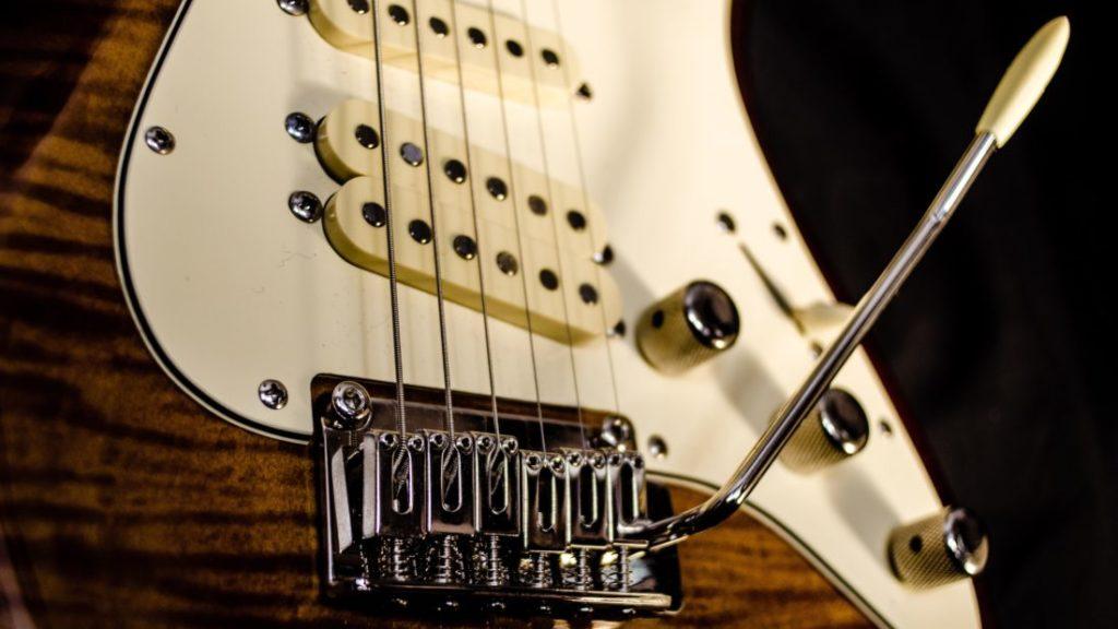 ギターピックアップの画像