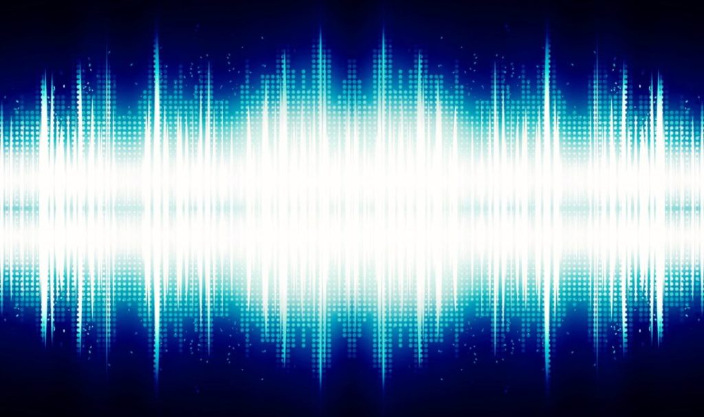 音圧の画像