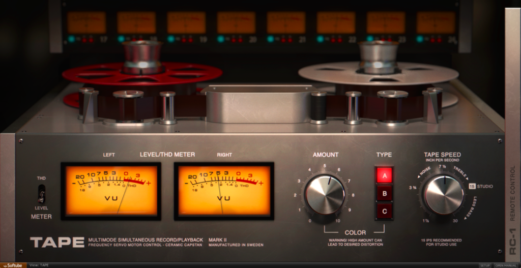 Softube Tape Machine Emulation