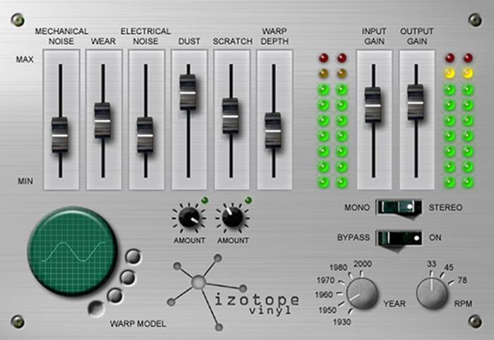 iZotope - Vinylの画像