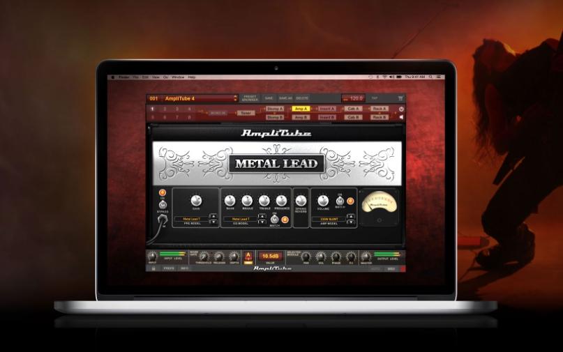AmpliTube Metalの画像