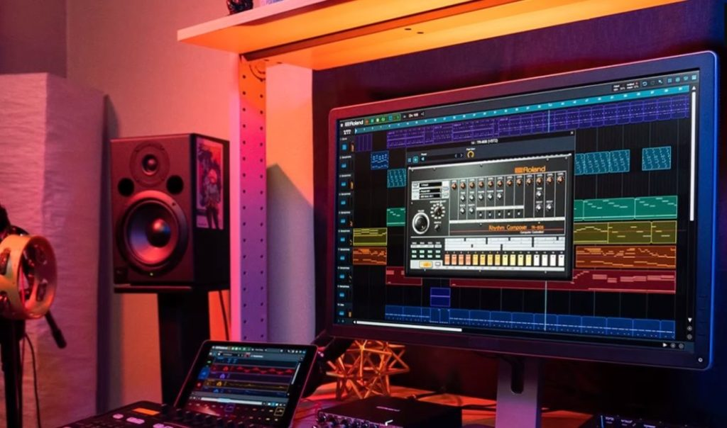 tr-808 studio