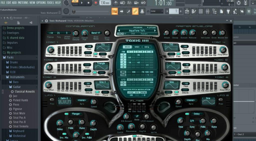 FL Studio プラグイン