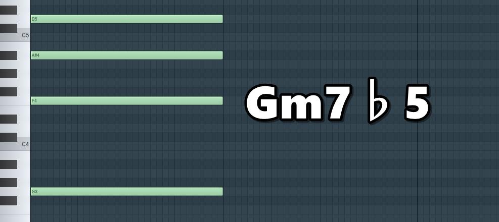 Gm7♭5