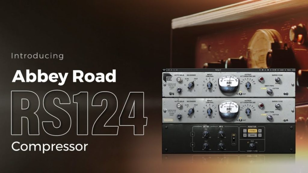 WAVES「Abbey Road RS124 Compressor」