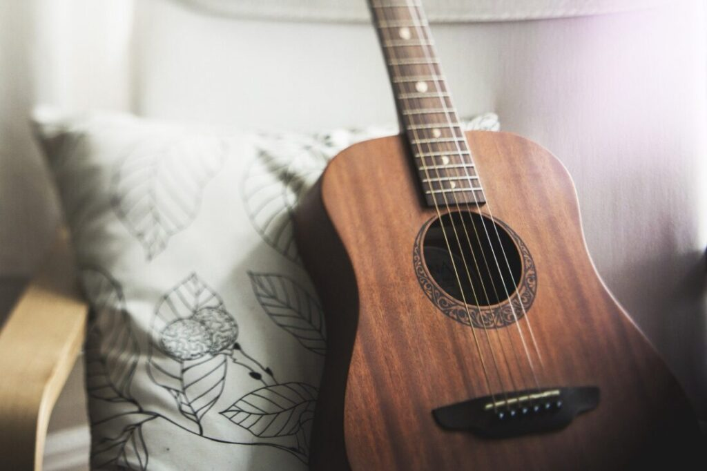 アコースティックギター練習