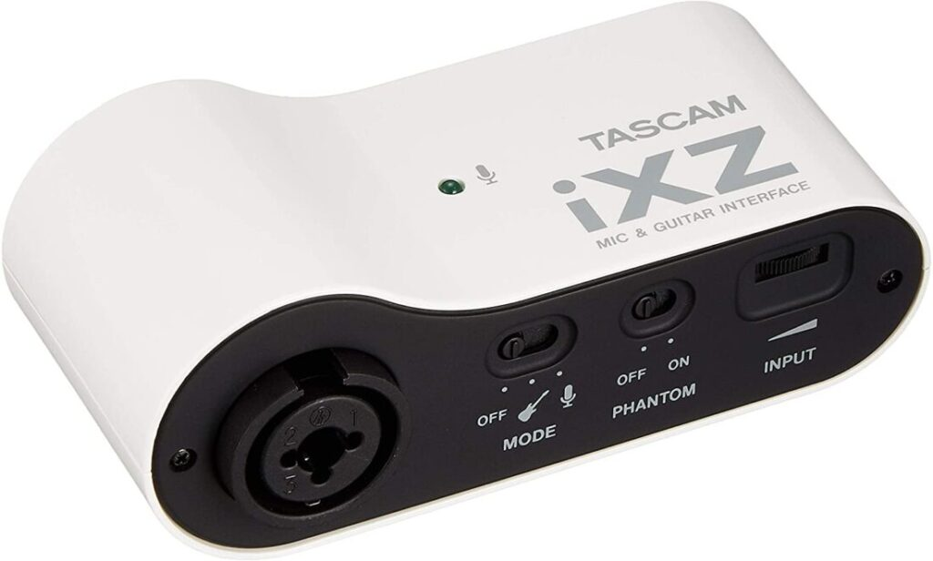 TASCAM iXZ Audio Interface for iOS