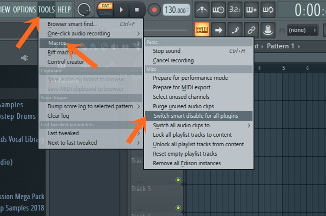 FL Studio Smart disable