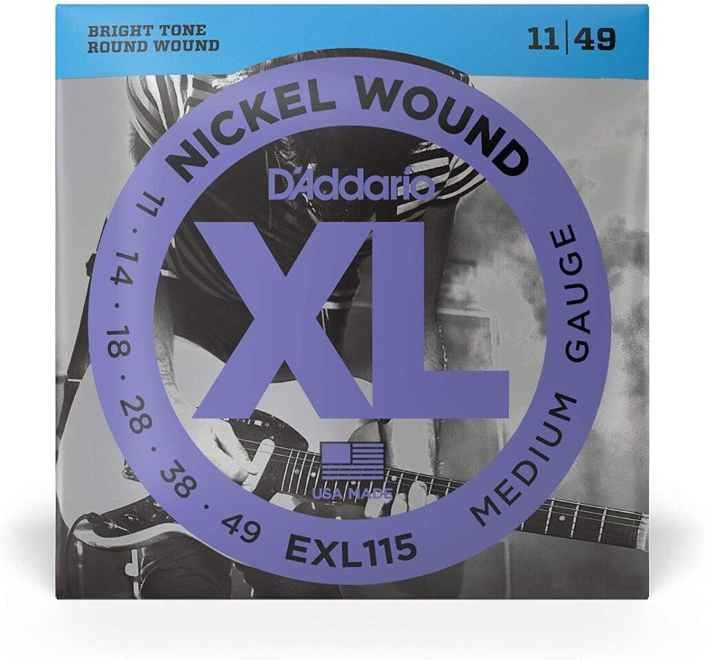 Blues JazzRock .011-.049 EXL115