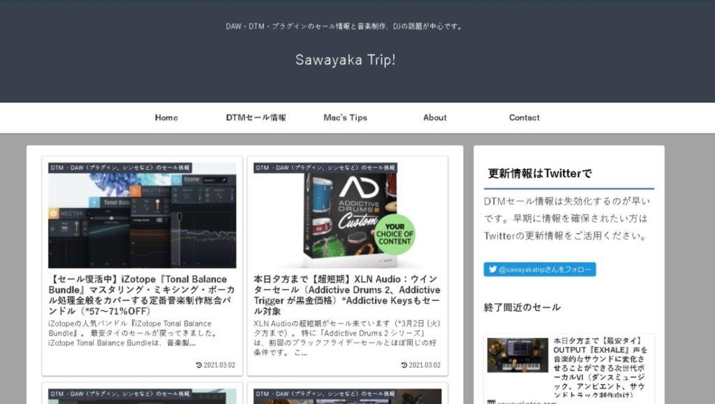 Sawayaka Trip!