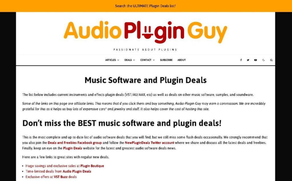 Audio Plugin Guy