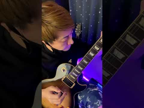 パンクロック風ギターソロ