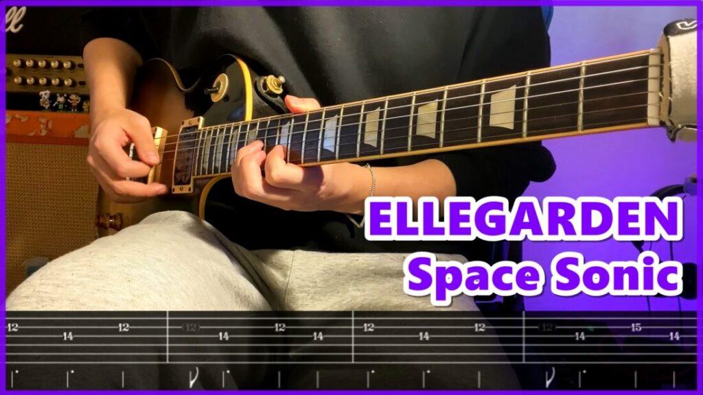 風の日【リードギターTAB】ELLEGARDEN | Lead Guitar Cover