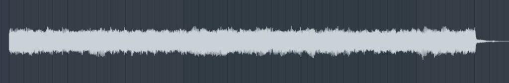ギターソロ 波形