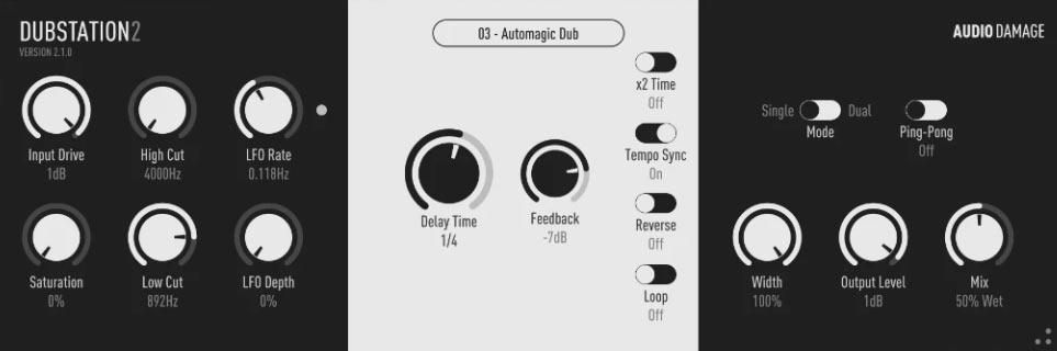 Audio Damage Dubstation 2