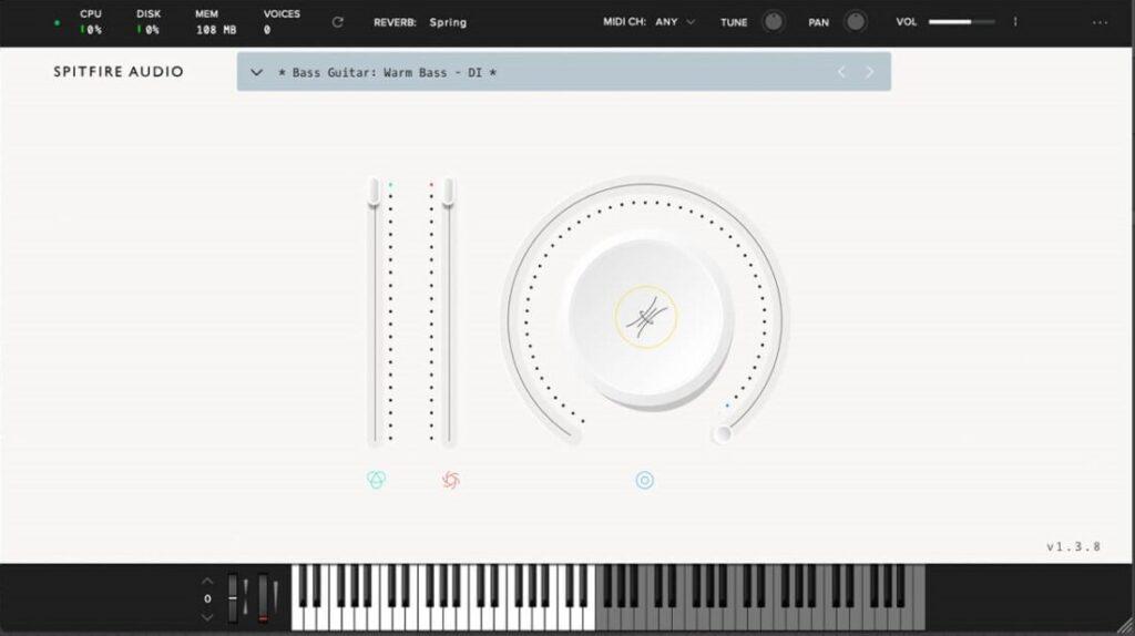 Spitfire Audio LABS BASS GUITAR