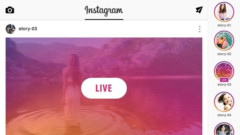 instagram live