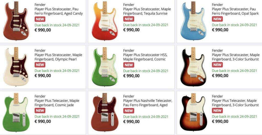 Fender Player Plus