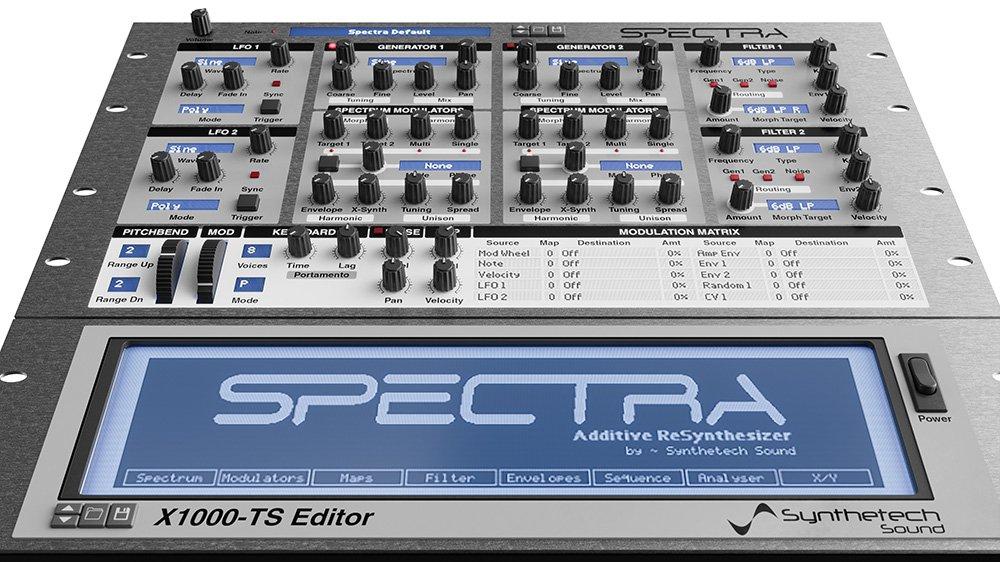 Synthetech Sound『Spectra Additive ReSynthesizer』