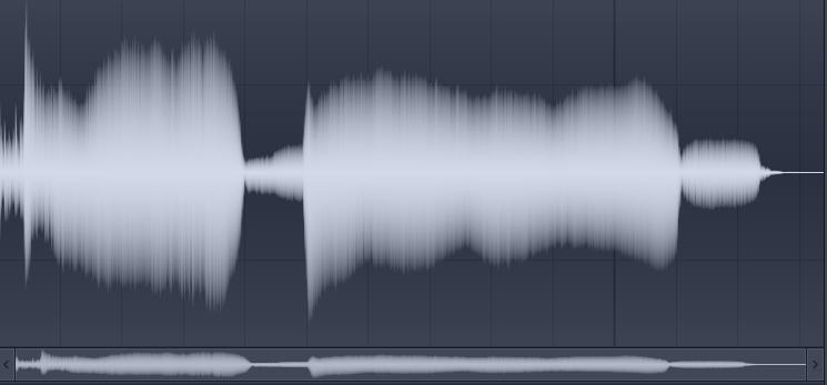 音声レベル